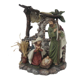 Holiday Living Tabletop Nativity Indoor Christmas Decoration