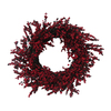 Holiday Living 24-in Red Artificial Wreath