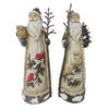Holiday Living Christmas Resin 16.25-in Woodlands Santa Assortment Tabletop Holiday Decoration