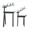 Holiday Living 2-Pack Metal Tabletop Deer Indoor Christmas Decoration
