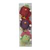 Holiday Living 3-Pack Multicolor Knit Shatterproof  Bird Ornaments