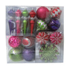 Holiday Living 70-Pack Multicolor Multipack Ornaments