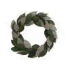 allen + roth Fabric Linen Wreath Hanging Christmas Decoration