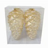Holiday Living 4-Pack Gold Jumbo Ornament