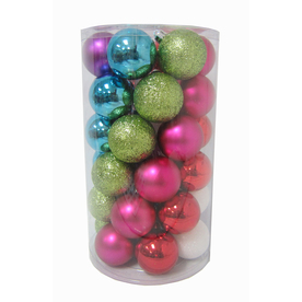 Holiday Living 36-Pack Multicolored Ornament Set