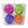 Holiday Living 4-Pack Multicolored Ornament Set