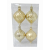 Holiday Living 4-Pack Gold Ornament Set