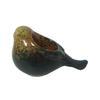 allen + roth 3.4-in Brown Ceramic Votive Candle Outdoor Decorative Lantern
