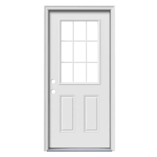 Lowe S Exterior Steel Doors : Entry doors from lowes by reliabilt benchmark therma tru