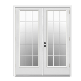 shop reliabilt 5 ft 11 1 2 in low e insulating 15 lite On 5 ft french patio doors