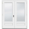 JELD-WEN 5-ft 11-1/2-in Low-E 1-Lite Composite French Outswing Patio Door