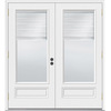 JELD-WEN 71.5-in Blinds Between the Glass Composite French Outswing Patio Door