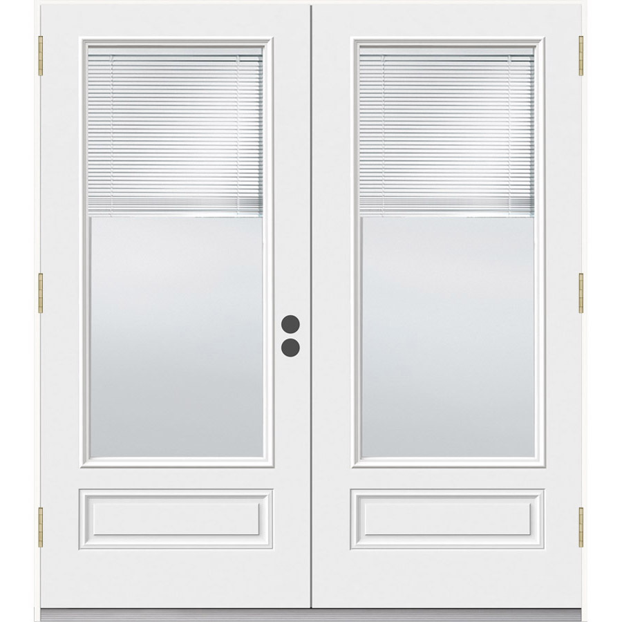 Patio Doors Outswing French Patio Doors With Blinds