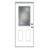 ReliaBilt 37-1/2-in x 81-3/4-in Half Lite Inswing Steel Entry Door