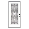 ReliaBilt 37-1/2-in x 81-3/4-in Full Lite Inswing Steel Entry Door