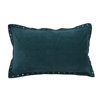 20-in W x 12-in L Teal Oblong Indoor Decorative Complete Pillow
