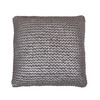 19-in W x 19-in L Silver Square Indoor Decorative Complete Pillow