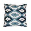 19-in W x 19-in L Teal Square Indoor Decorative Complete Pillow