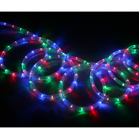lighting rope lights neoflam multi color led rope light actual 18 ft. Black Bedroom Furniture Sets. Home Design Ideas