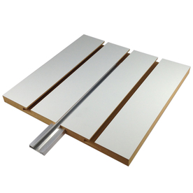 HOLLAND PANEL PRODUCTS 1.5-in x 96-in Aluminum Slatwall Insert