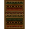 United Weavers Of America Genesis Multicolor Rectangular Indoor Woven Lodge Area Rug (Common: 5 x 8; Actual: 63-in W x 86-in L)