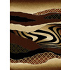 United Weavers Of America China Garden Brown Rectangular Indoor Woven Southwestern Area Rug (Common: 8 x 10; Actual: 94-in W x 126-in L)