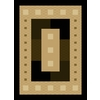 United Weavers Of America China Garden Brown Rectangular Indoor Woven Area Rug (Common: 5 x 7; Actual: 63-in W x 86-in L)