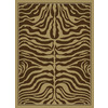 United Weavers Of America China Garden 5-ft 3-in x 7-ft 2-in Rectangular Tan Solid Area Rug