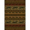 United Weavers Of America Marshfield 5-ft 3-in x 7-ft 2-in Rectangular Black Border Area Rug