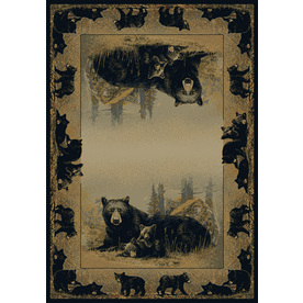 United Weavers Of America Hautman 5-ft 3-in x 7-ft 2-in Rectangular Beige Border Area Rug