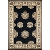 United Weavers Of America Contours 5-ft 3-in x 7-ft 2-in Rectangular Black Geometric Area Rug