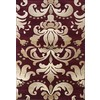 United Weavers Of America Contours 5-ft 3-in x 7-ft 2-in Rectangular Tan Transitional Area Rug