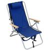 RIO Brands 1 Indoor/Outdoor Steel Beach Folding Chair
