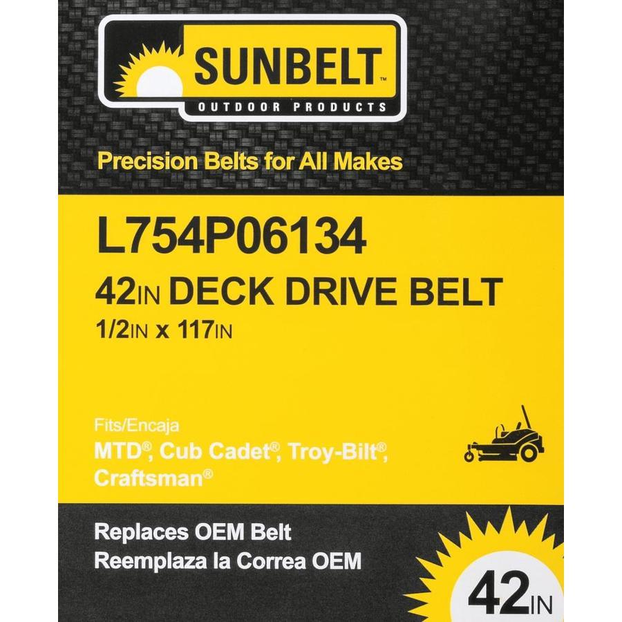 D/&D PowerDrive B1G69110 Sunbelt Outdoor Products Kevlar Replacement Belt