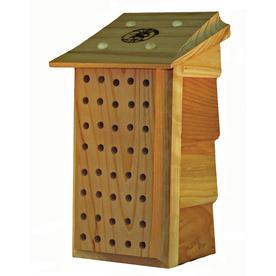 Schrodt Designs Schrodt Wood Hanging or Post Mount BeeHouse