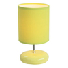 Simple Designs 10.24-in Green Indoor Table Lamp with Fabric Shade