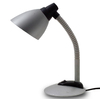 Simple Designs 8.58-in Silver LED Desk Lamp with Metal Shade