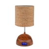 LighTunes 16.54-in Wood Desk Lamp with Plastic Shade