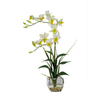 Nearly Natural 22-in Cream Dendrobium Orchid
