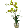 Nearly Natural 22-in Green Dendrobium