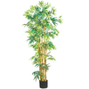 Nearly Natural 60-in Green Bamboo Tree