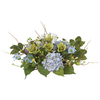 Nearly Natural 9-in Blue Hydranea