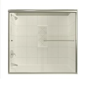 Shop Arizona Shower Door Euro 62 In To 66 In W X