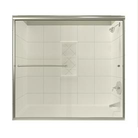 Shop Arizona Shower Door Lite Euro 56 In To 60 In W X 57