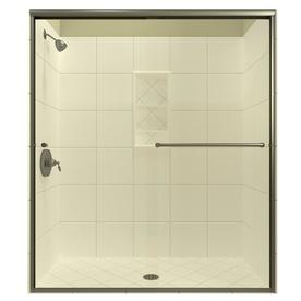 Shop Arizona Shower Door Lite Euro 50 In To 54 In W X 70