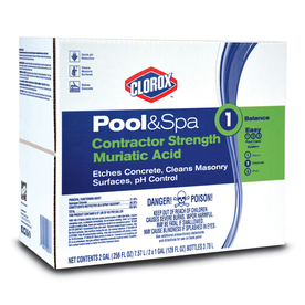 Shop clorox pool spa 2 gallon muriatic acid at How to add muriatic acid to swimming pool