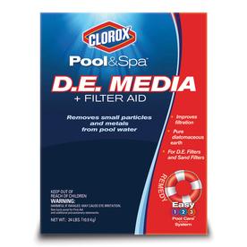 Shop Clorox PoolampSpa 24 lb D E Pool Filter Aid At Lowescom