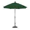 Lauren & Company Round Patio Umbrella with Tilt-and-Crank (Common: 9-ft x 9-ft; Actual: 9-ft x 9-ft)