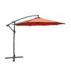 Lauren & Company Round Offset Patio Umbrella with Tilt-and-Crank (Common: 10-ft x 10-ft; Actual: 10-ft x 10-ft)