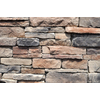 M-Rock 100 Sq. Ft. Brown Ledgestone Flat